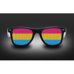 Pride eyeglasses - Pansexual - flag
