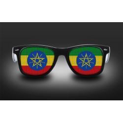 Lunettes de supporter - Éthiopie - Drapeau