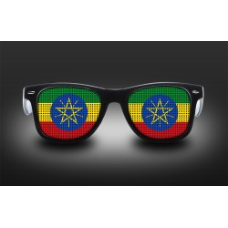 Supporter eyeglasses - Ethiopia - flag