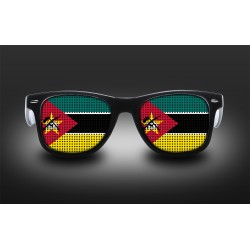 Supporter eyeglasses - Mozambique - flag