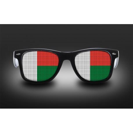 Supporter eyeglasses - Madagascar - flag