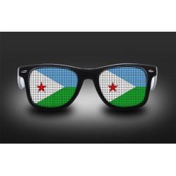 Supporter eyeglasses - Djibouti - flag