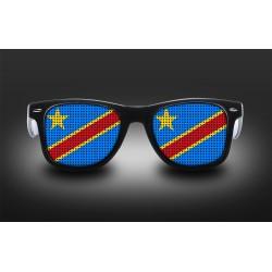 Supporter eyeglasses - Republic democratic of Congo - flag