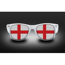 Lunettes de supporter - Angleterre - Drapeau