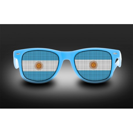 Supporter Eyeglasses - Argentina - Flag