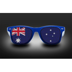 Supporter Eyeglasses - Australia - Flag