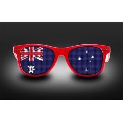 Lunettes de supporter - Australie - Drapeau