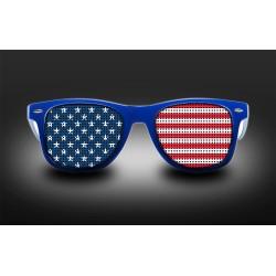 Lunettes de supporter - USA - Drapeau