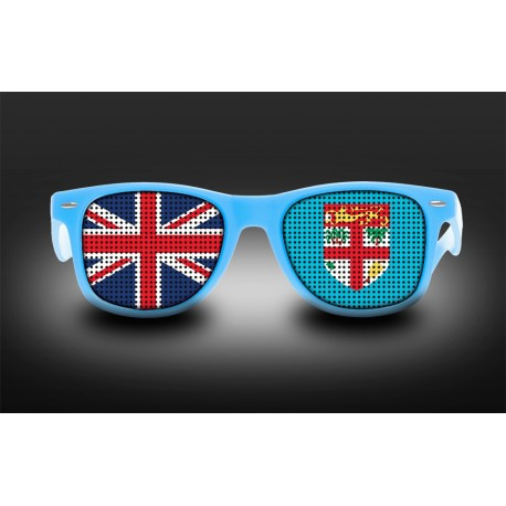 Supporter Eyeglasses - Fiji - Flag