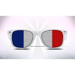 Supporter Eyeglasses - French - Flag