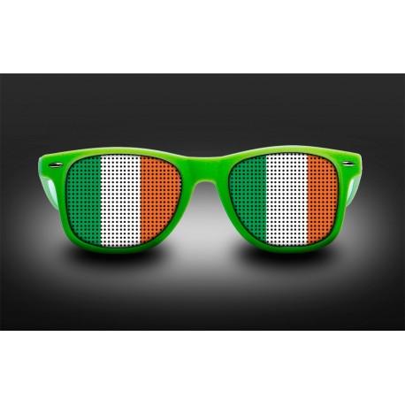 Lunettes de supporter - Irlande - Drapeau