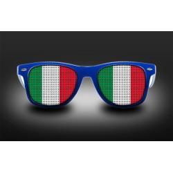 Lunettes de supporter - Italie - Drapeau