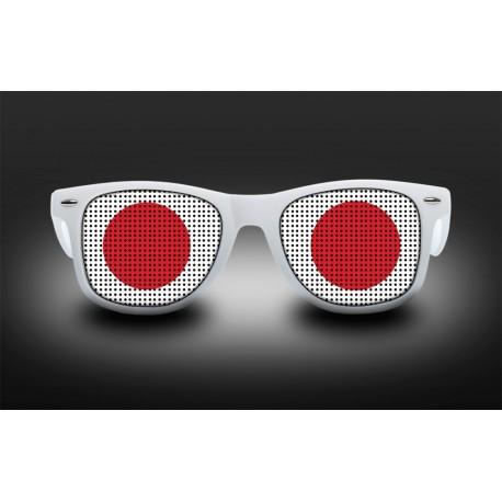 Lunettes de supporter - Japon - Drapeau