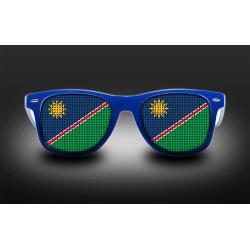 Lunettes de supporter - Namibie - Drapeau