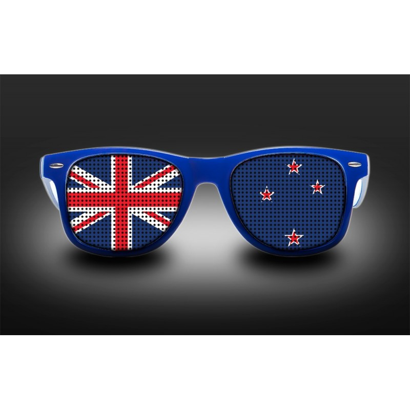 Optical Glasses Nz : Supporters eyeglasses - New Zealand - Flag