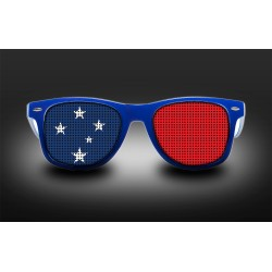 Supporter Eyeglasses - Samoa - Flag