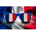 Lunettes de supporter - France - Drapeau
