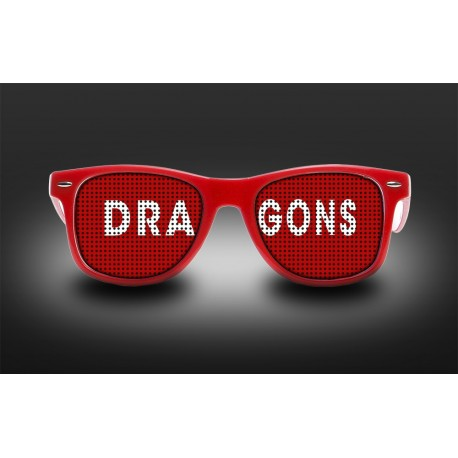 Lunettes Dragons - Pays de Galles Rugby