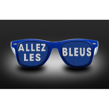 Eyeglasses - Allez les bleus + Flag