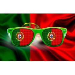 Lunettes de supporter - Portugal - Drapeau