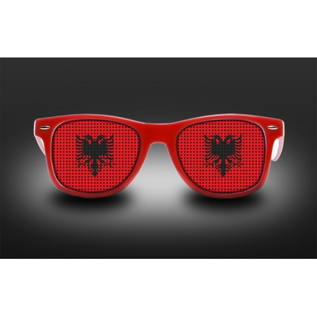 Supporter Eyeglasses - Albania - Flag