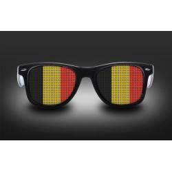 Lunettes de supporter - Belgique - Drapeau