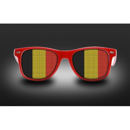 Supporter Eyeglasses - Belgium - Flag