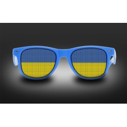 Supporter Eyeglasses - Ukraine- Flag