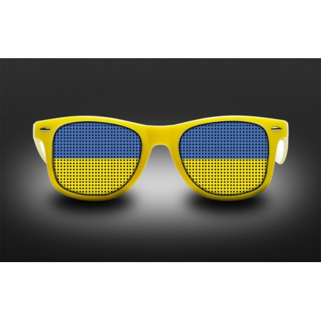 Supporter Eyeglasses - Ukraine - Flag