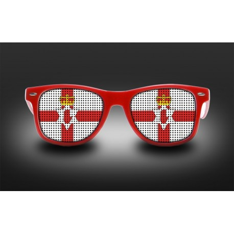 Supporter Eyeglasses - Northern Ireland - Flag