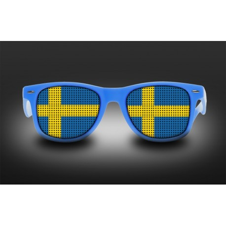 Supporter Eyeglasses - Sweden - Flag