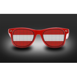 Supporter Eyeglasses - Austria - Flag