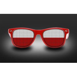 Supporter Eyeglasses - Poland - Flag