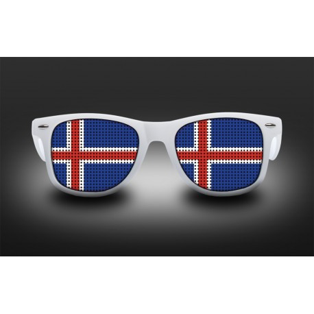 Supporter Eyeglasses - Iceland - Flag