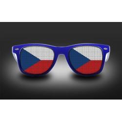 Supporter Eyeglasses - Czech republic- Flag