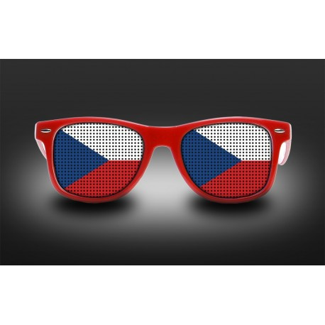 Supporter Eyeglasses - Czech republic- Flag