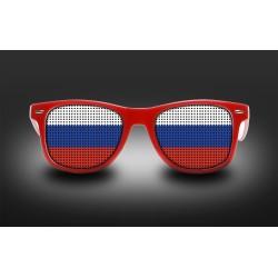Lunettes de supporter - Russie - Drapeau
