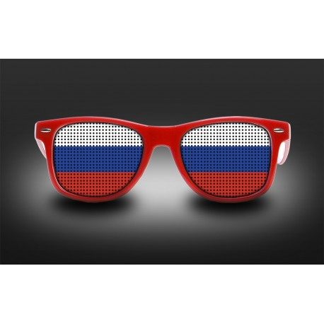 Supporter Eyeglasses - Russia - Flag