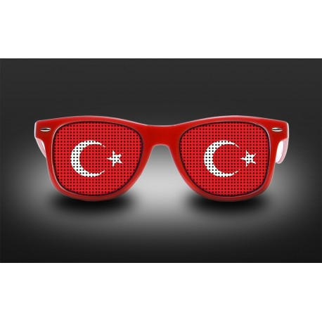 Supporter Eyeglasses - Turkey - Flag