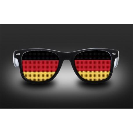 Lunettes de supporter - Allemagne - Drapeau