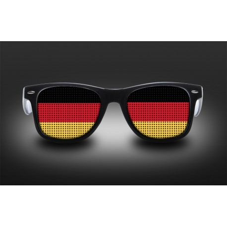 Supporter Eyeglasses - Germany - Flag