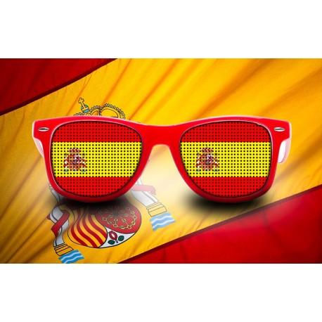 Lunettes de supporter - Espagne - Drapeau