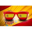 Supporter eyeglasses - Spain - flag
