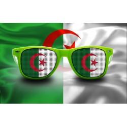 Lunettes de supporter - Algérie - Drapeau