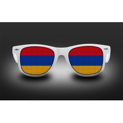 Supporter eyeglasses - Armenia - flag