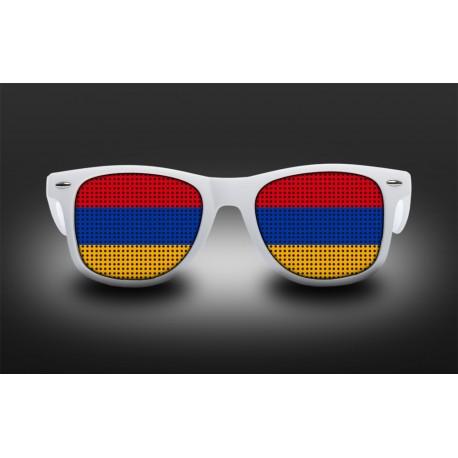 Lunettes de supporter - Arménie - Drapeau