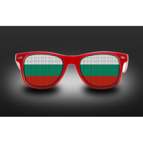 Lunettes de supporter - Bulgarie - Drapeau