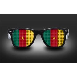 Lunettes de supporter - Cameroun - Drapeau