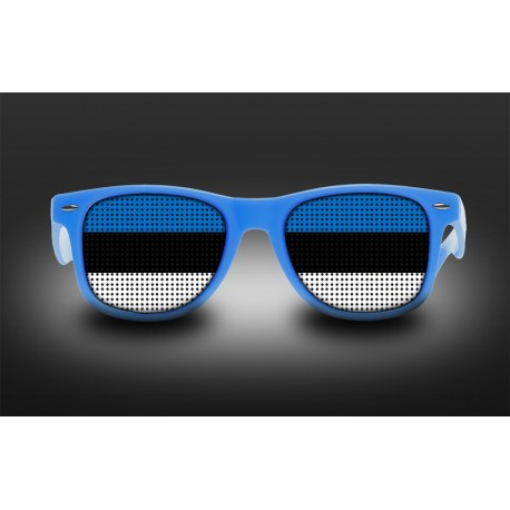 Supporter eyeglasses - Estonia - flag