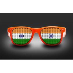 Lunettes de supporter - Inde - Drapeau